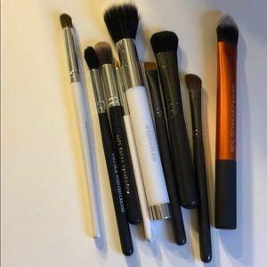 MAC Cosmetics Makeup - 9 Brush Bundle Eye & Face MAC, Sonia Kashuk & More